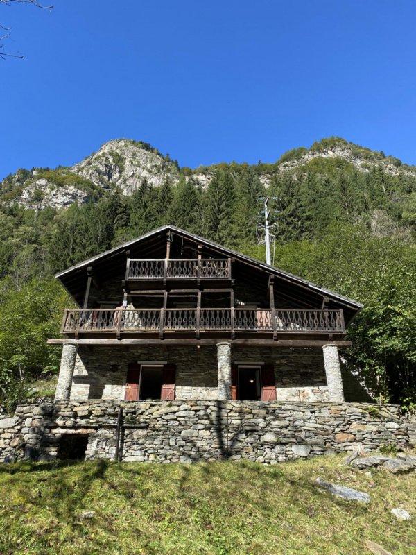 Detached house in Alto Sermenza