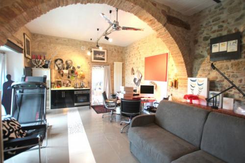 Fristående lägenhet i Lajatico