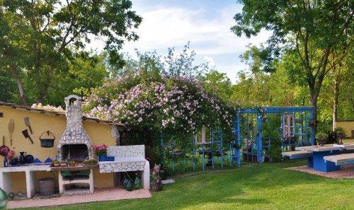 Villa à Pergola