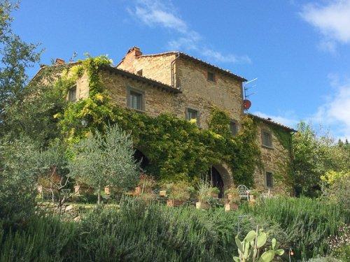 Klein huisje op het platteland in Radda in Chianti