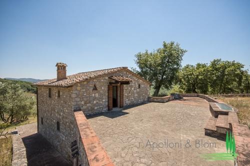 Klein huisje op het platteland in Gaiole in Chianti