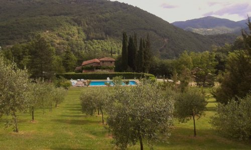 Casolare a Castel Focognano