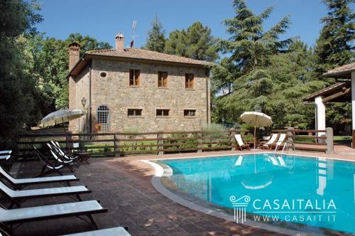 Historisches Haus in San Gimignano