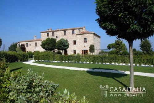 Hus på landet i Cortona
