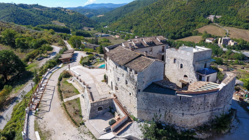 Castle in Spoleto