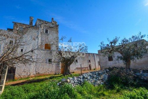 Masseria (lantgårdshus) i Castellana Grotte
