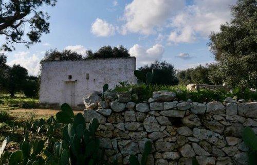 Klein huisje op het platteland in Ceglie Messapica