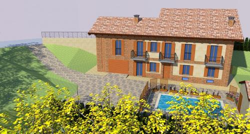 Vrijstaande woning in Vigliano d'Asti