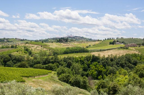 Country house in San Gimignano