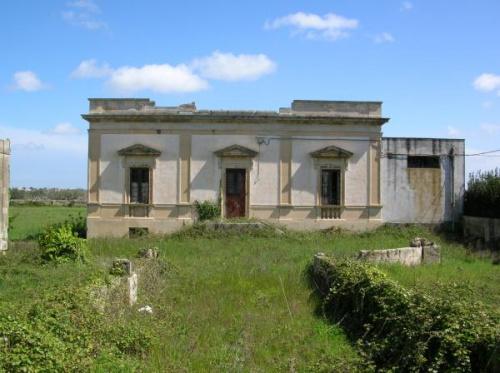 Hus på landet i Zollino