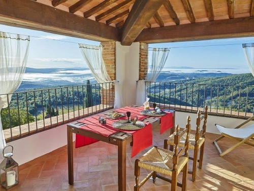 Eigenständiges Appartement in Castelnuovo Berardenga