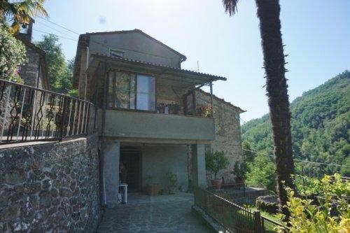 Kleines Dorf in Bagni di Lucca