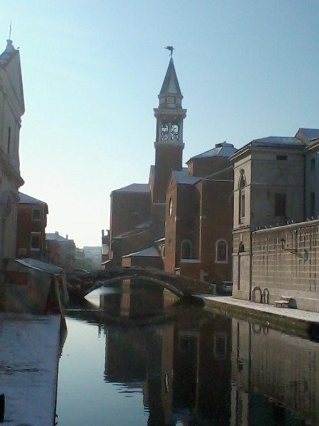 Hus i Chioggia