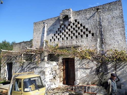 Masseria (lantgårdshus) i Ugento