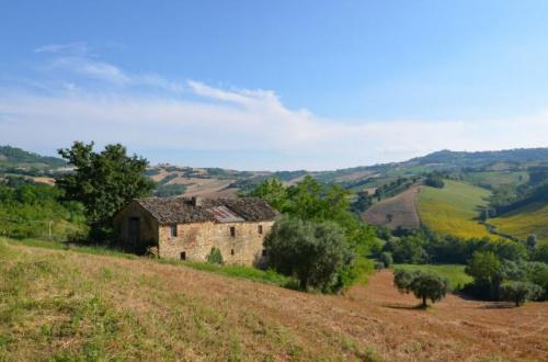 Lantställe i Monteleone di Fermo