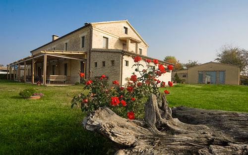 Bauernhaus in Ostra