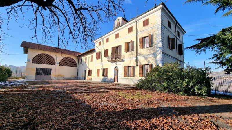 Casa histórica en San Giorgio Monferrato