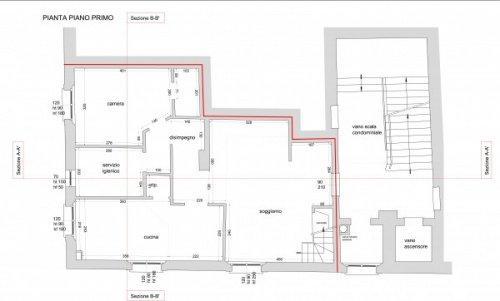 Historisk lägenhet i Pontedera