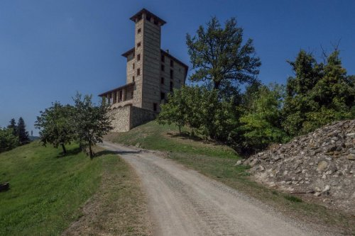 Schloss in Odalengo Piccolo
