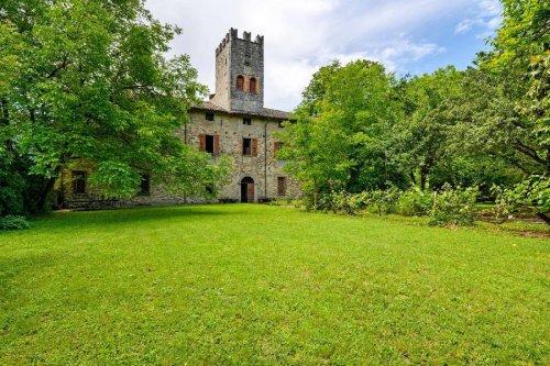 Schloss in Solignano