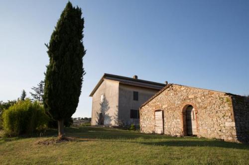 Hus i Scansano