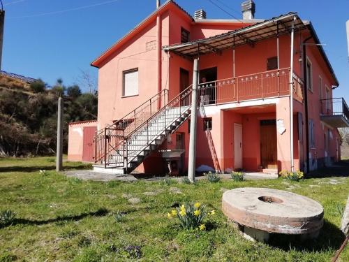 Hus på landet i Bisenti