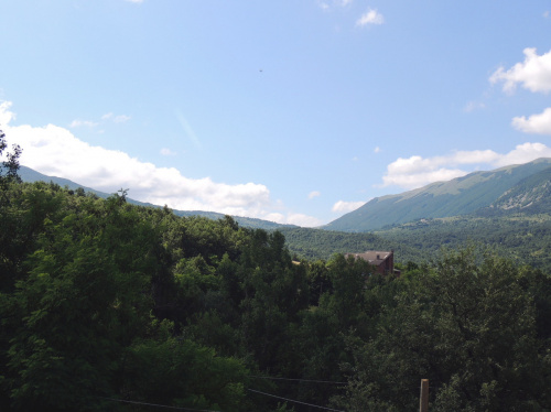 Lantställe i Caramanico Terme