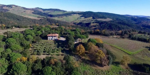 Landwirtschaftlicher Betrieb in Volterra