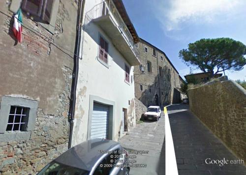 Hus i Cortona