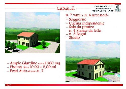 Casa a Belvedere Ostrense