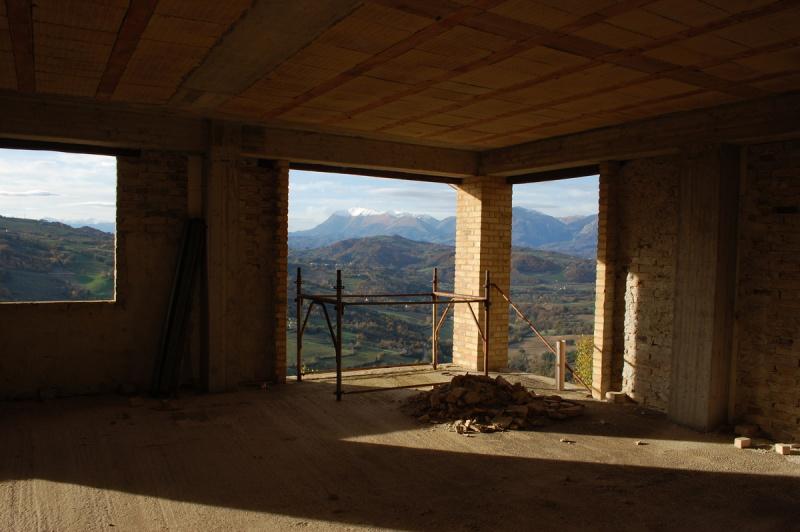 Kleines Dorf in Monte San Martino