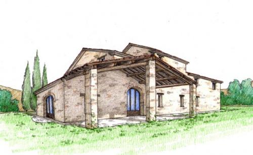 Casa di campagna a Gualdo