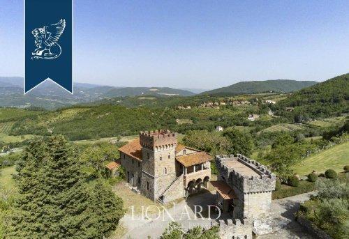 Schloss in Subbiano