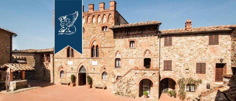Schloss in Bucine