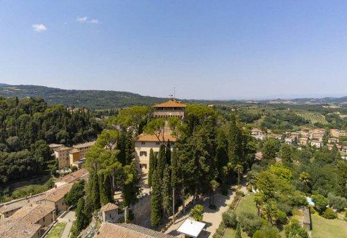 Castle in Cetona