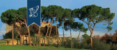 Schloss in Monteriggioni