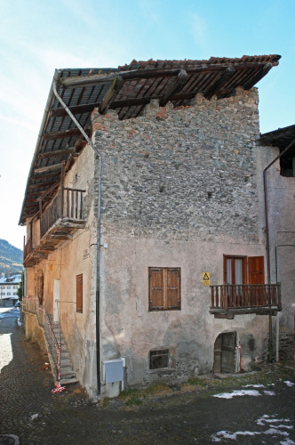 Historic house in Cesana Torinese
