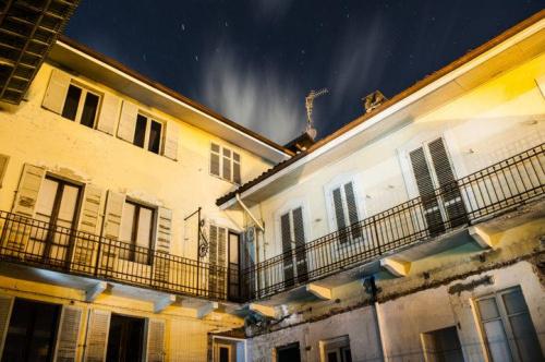 Historiskt hus i Biella