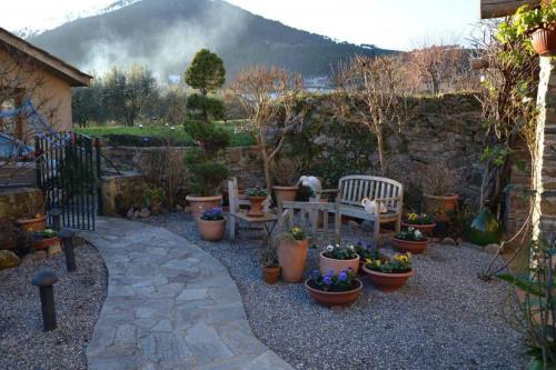 Klein huisje op het platteland in Capannori