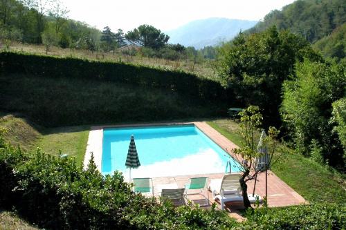 Klein huisje op het platteland in Pescaglia