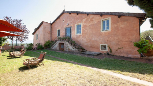 Klein huisje op het platteland in Lucca