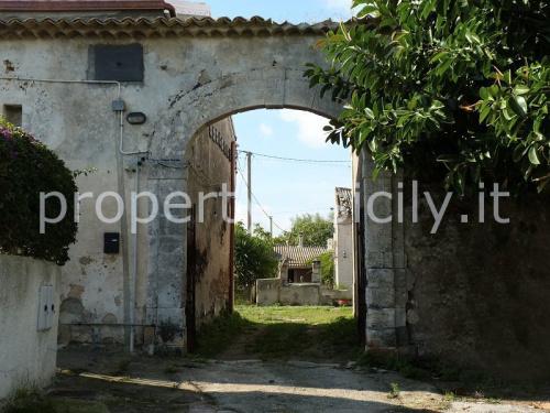 Masseria (lantgårdshus) i Syrakusa