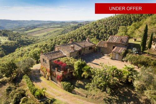 Klein huisje op het platteland in Greve in Chianti