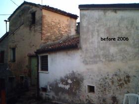 Hus från källare till tak i Terre Roveresche