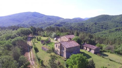 Hus på landet i Umbertide