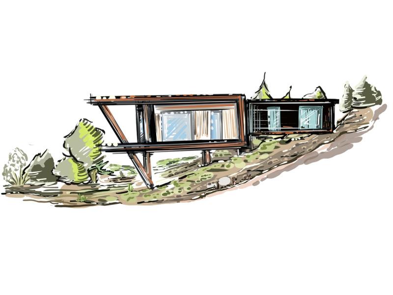 Einfamilienhaus in Riva di Solto