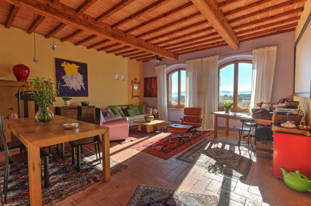 Historisch appartement in Colle di Val d'Elsa