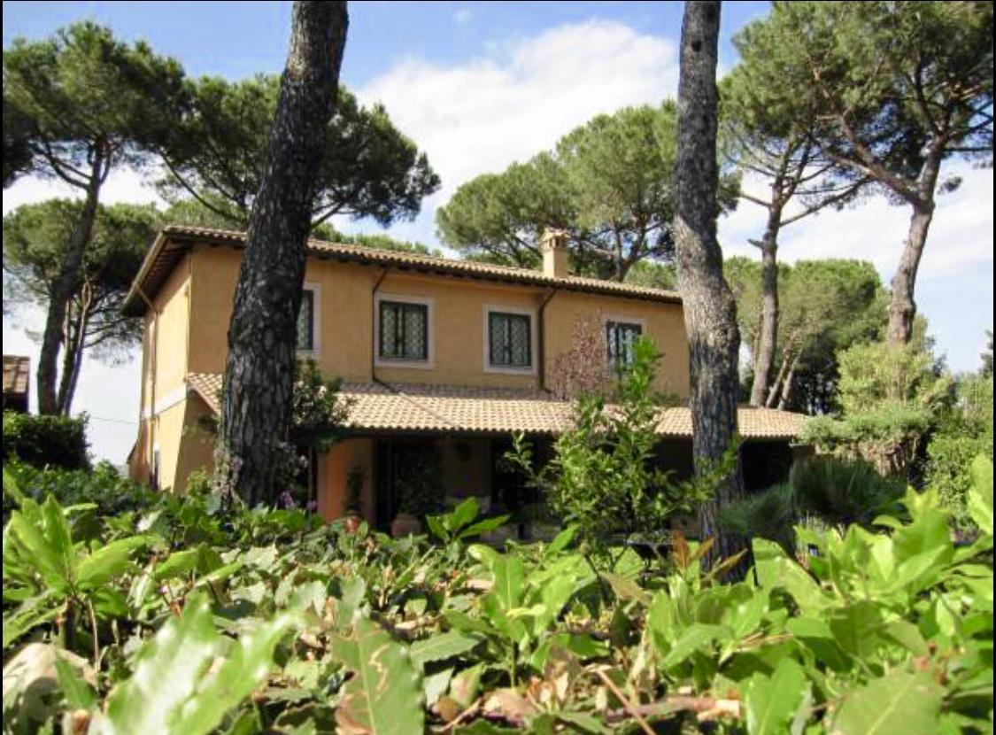 Hus i Sacrofano