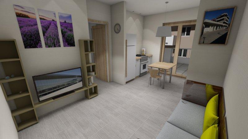 Apartamento independiente en Acquaviva Picena