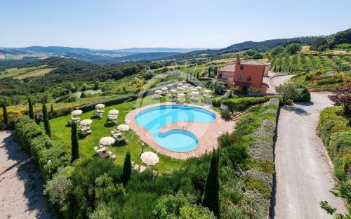 Villa en San Gimignano